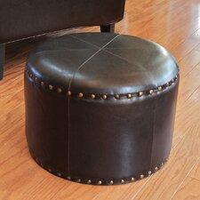 Seville Faux Leather Ottoman