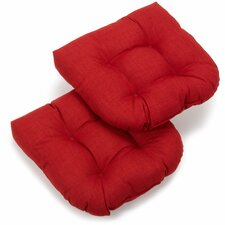 Outdoor Adirondack Chair Cushion (Set of 2)