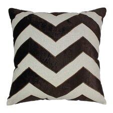 Indian Chevron Cotton Throw Pillow