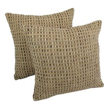 Rope Corded Throw Pillow (Set of 2)