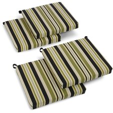 Eastbay Outdoor Adirondack Chair Cushion (Set of 4)