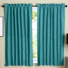 Microsuede Blackout Curtain Panels (Set of 2)