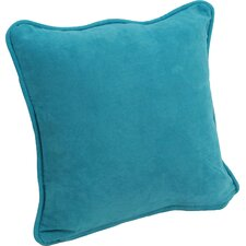 Microsuede Corded Throw Pillow (Set of 2)