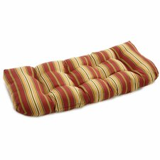 Stripe Outdoor Bench Cushion