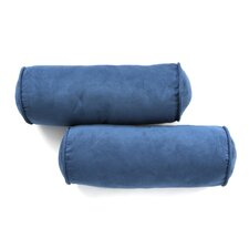 Microsuede Bolster Pillow (Set of 2)