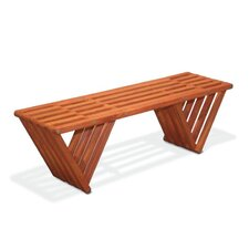 Xquare X60 Wood Garden Bench
