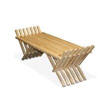 X90 French Bench Pine Picnic Bench