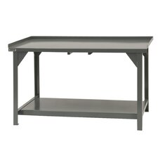 Heavy Duty Steel Top Workbench