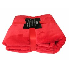 Solid Plush Blanket