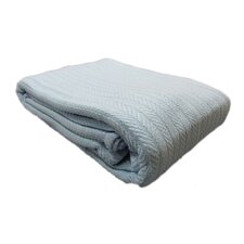 All Seasons Cotton Cable Throw Blanket