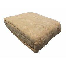 Egyptian Quality Cotton Herringbone Throw Blanket