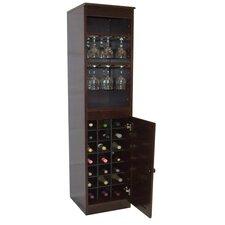 21 Bottle Floor Wine Cabinet