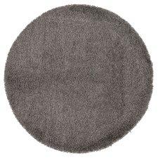 Teppich Cozy Rondo in Grau