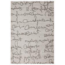 Teppich Scribe in Elfenbein