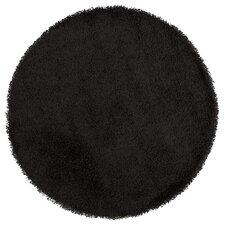 Teppich Cozy Rondo in Schwarz