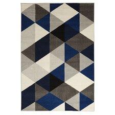 Teppich Mouto in Blau