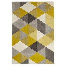 Teppich Mouto in Gelb