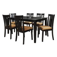Jeannette 7 Piece Dining Set