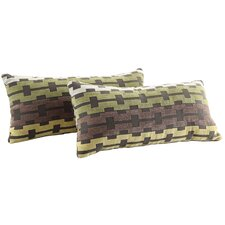 Ariana Link Kidney Lumbar Pillow (Set of 2)