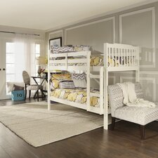 Sauganash Twin Over Twin Bunk Bed