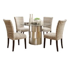 Emanuella 5 Piece Dining Set