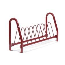 Traditional 8 Bike Triangular Rack