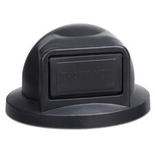 Plastic Dome Top with Push Door Opening for 32 Gallon Receptacle