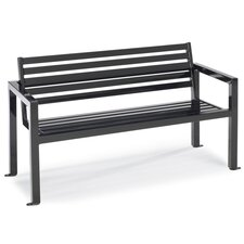 Matrix Steel Contour Garden Bench
