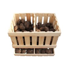 Potato Pine Storage Box