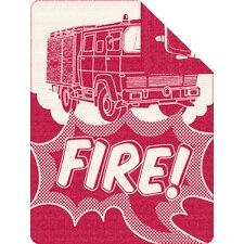 Kinderdecke Feuerwehr