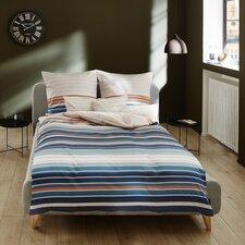Bettwäsche-Set aus Baumwolle Mako-Satin