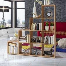 Raumteiler Treppenregal, 142,5 x138,5 cm