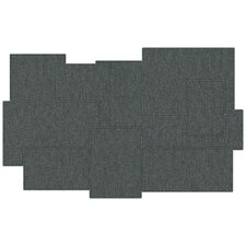 Silverline Embossed Geometric Placemat (Set of 4)
