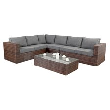 Prestige 6 Seater Sectional Sofa Set with Cushions