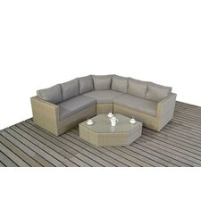 5 Seater Sectional Sofa Set with Cushions