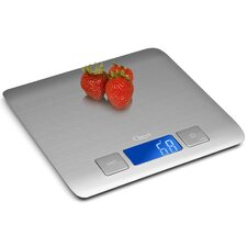 Zenith Ultra Refined Stainless-Steel Digital Kitchen Scale