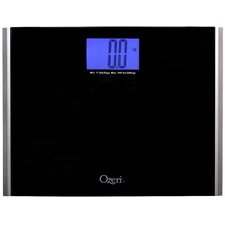 Ozeri Precision Pro II Digital Bath Scale (440 lbs Capacity) with Weight Change Detection Technology