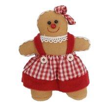 Gingerbread Woman Ornament (Set of 6)