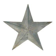 Galvanized Star Wall Décor (Set of 4)