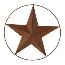 Star Wall Décor with Wired Ring