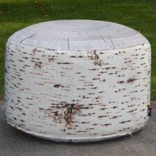 Pouf Birch Outdoor Stump