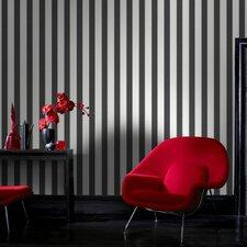 Ticking Stripe 10m L x 52cm W Roll Wallpaper