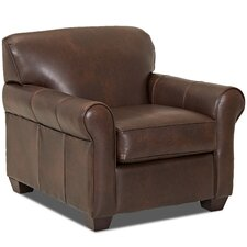 Jennifer Leather Arm Chair