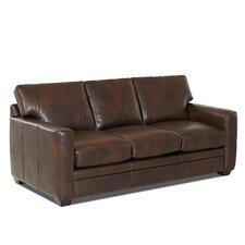 Carleton Leather Sofa