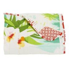 Kuschel- & Tagesdecke Pacific Blumen