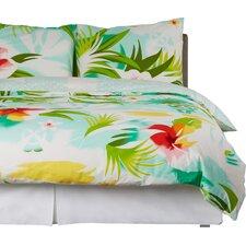 Bettwäsche-Set Pacific Blumen aus Baumwolle