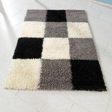 Kinderteppich in Schwarz/ Weiß/ Grau