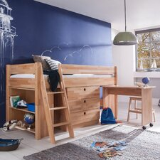 Hochbett Kim mit Möbelset, 90 x 200 cm