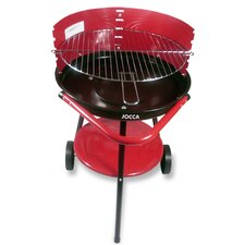Charcoal Barbecue with Wheels