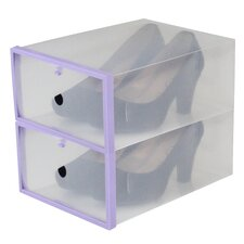 2 Piece Shoe Box Set (Set of 2)